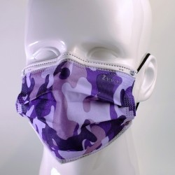Pack mixte Camouflage - Masques Jetables - 7