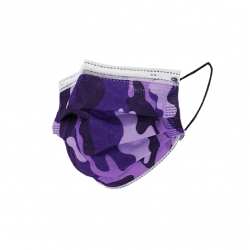Pack mixte Camouflage - Masques Jetables - 6