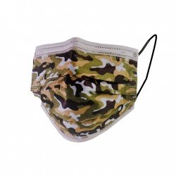 Pack mixte Camouflage - Masques Jetables - 4